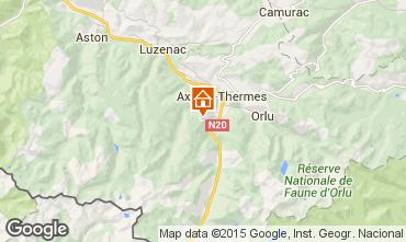 Karte Ax Les Thermes Chalet 67772