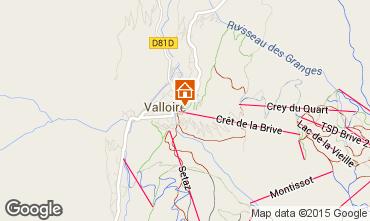 Karte Valloire Appartement 79621