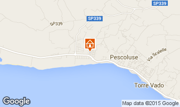 Karte Pescoluse Appartement 86954