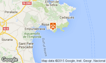 Karte Rosas Appartement 72870