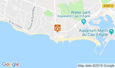 Karte Cap d'Agde Appartement 99055