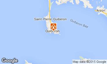 Karte Quiberon Appartement 51092
