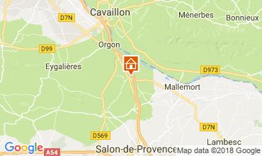 Karte Eygalières Villa 76186
