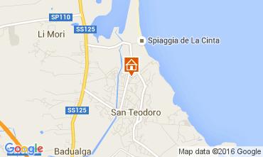 Karte San Teodoro Haus 104897