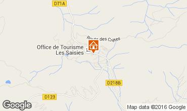 Karte Les Saisies Studio 2742