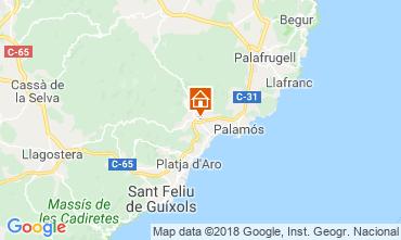 Karte Calonge Villa 54458