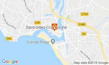 Karte Saint-Gilles-Croix-de-Vie Haus 118736