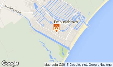 Karte Empuriabrava Villa 39089