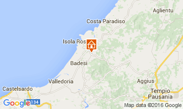 Karte Isola Rossa Appartement 60142