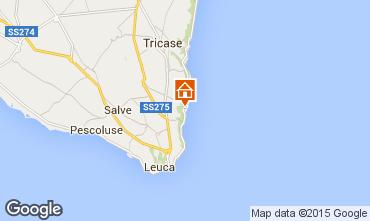 Karte Marina di Novaglie Appartement 77582