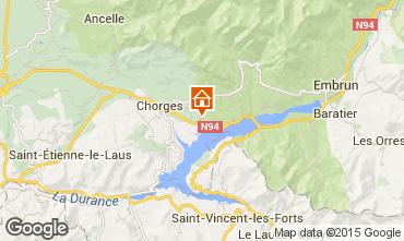 Karte Réallon Chalet 2488