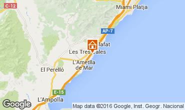 Karte La Ametlla de Mar Villa 103289