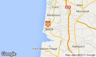 Karte Berck-Plage Appartement 86477