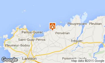Karte Trevou Treguignec Villa 84311