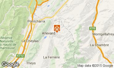 Karte Le Collet d'Allevard Studio 92522