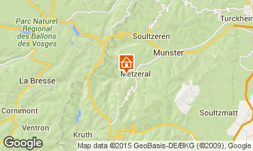 Karte Colmar Chalet 27574