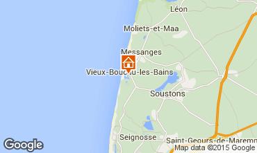 Karte Vieux Boucau Appartement 68069