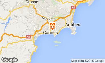 Karte Cannes Appartement 59852