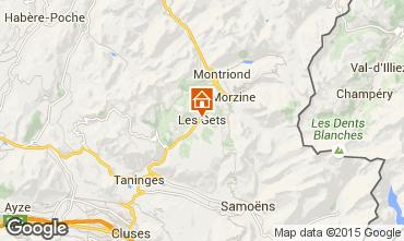 Karte Les Gets Appartement 66107