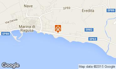Karte Marina di Ragusa Bungalow 94581
