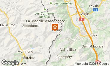 Karte Ch�tel Chalet 800