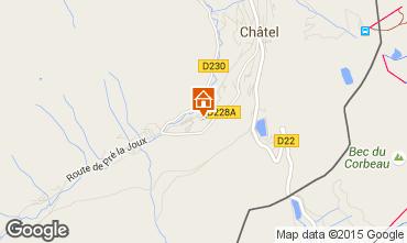 Karte Châtel Chalet 800