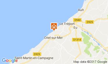 Karte Le Tréport Haus 112767