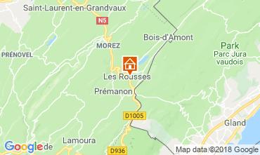 Karte Les Rousses Appartement 117146