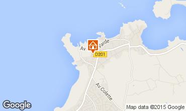 Karte Saint Malo Haus 7597