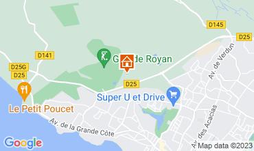 Karte Saint Palais sur Mer Appartement 41833