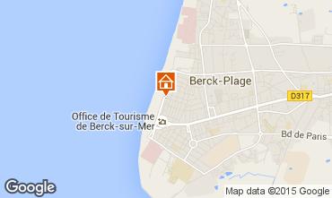 Karte Berck-Plage Appartement 8873