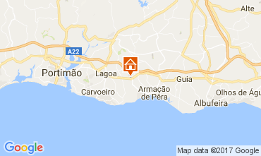 Karte Lagoa Appartement 107615