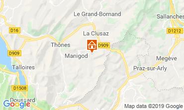 Karte Manigod-Croix Fry/L'étale-Merdassier Appartement 67712