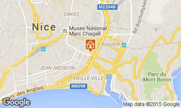 Karte Nice Appartement 81029