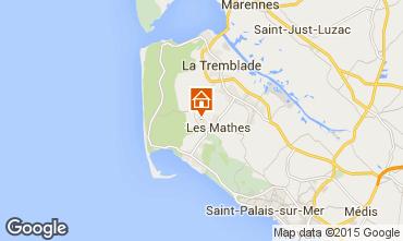 Karte La Palmyre Mobil-Home 81106