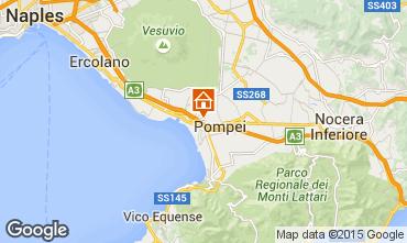 Karte Pompeji Appartement 26954