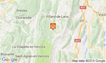 Karte Villard de Lans - Corrençon en Vercors Appartement 3643