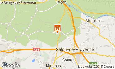 Karte Eyguières Villa 92658