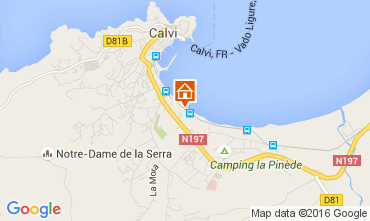 Karte Calvi Studio 104525