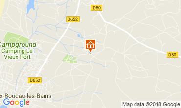 Karte Vieux Boucau Villa 115623