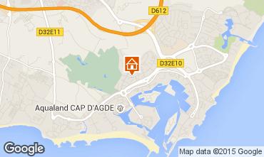 Karte Cap d'Agde Appartement 85152