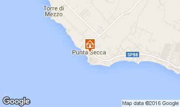 Karte Punta Secca Appartement 97760