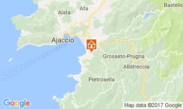 Karte Porticcio Villa 111562