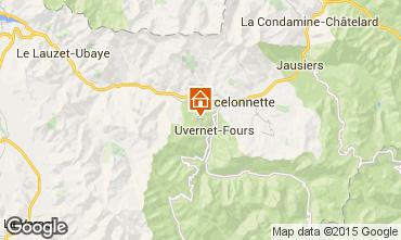 Karte Pra Loup Chalet 2335