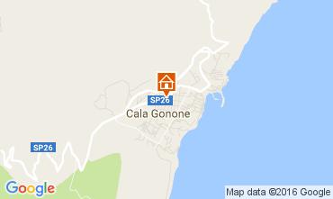 Karte Cala Gonone Appartement 106360