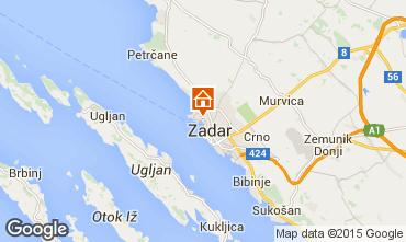 Karte Zadar Appartement 24286