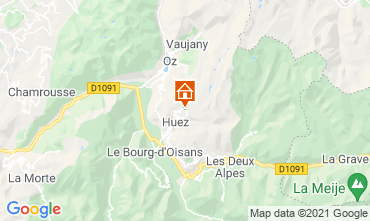 Karte Alpe d'Huez Studio 80613