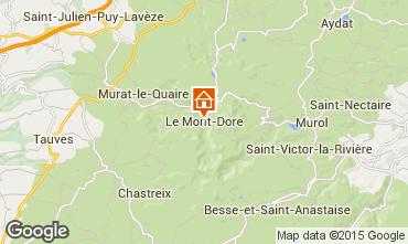 Karte Le Mont Dore Appartement 76136