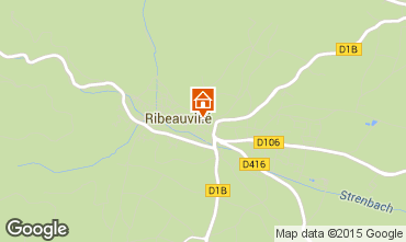 Karte Ribeauvillé Appartement 74066