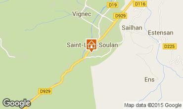 Karte Saint Lary Soulan Appartement 4439
